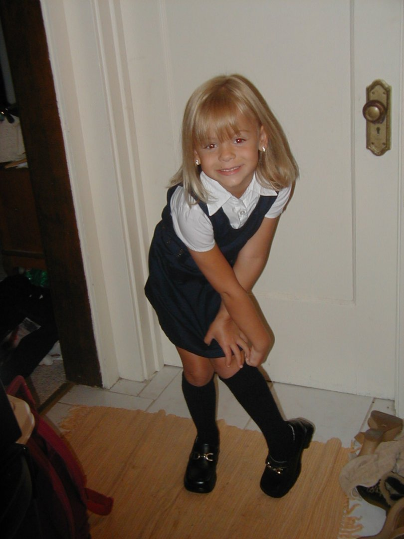 Brianna in Uniform